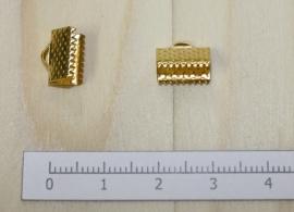 1205 - Lintklem Goud 10x7mm