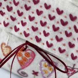Handwerktasje klein harten