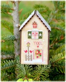 Christmas birdhouse noel - 166
