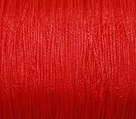 Satijnkoord - rood