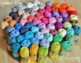 Scheepjes Catona 25 - alle 69 kleuren
