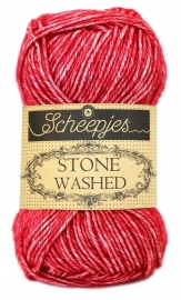 Scheepjes Stone Washed - Red Jasper - 807
