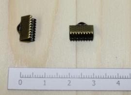 1208 - Lintklem Brons 10x7mm