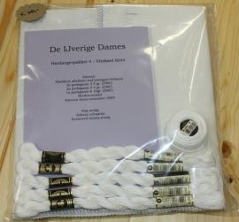 Hardangerpakket 4 - vierkant klein