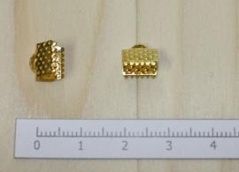 1204 - Lintklem Goud 8x7mm