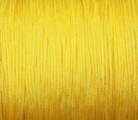 Satijnkoord - geel