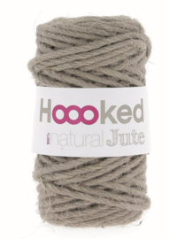 Hoooked Natural Jute - Cinnamon Taupe