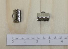 1202 - Lintklem Zilver 10x7mm