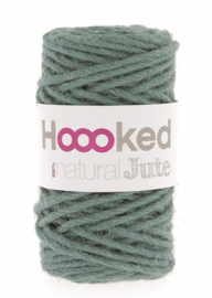 Hoooked Natural Jute - Lush Petrol