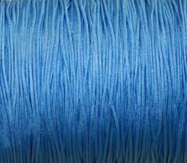Satijnkoord - lichtblauw
