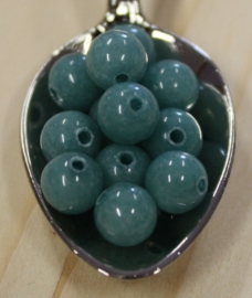 Jade perle - Hell Teal Grün - 6mm