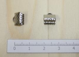1201 - Lintklem Zilver 8x7mm