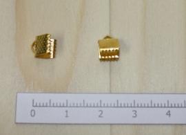 1203 - Lintklem Goud 6x7mm