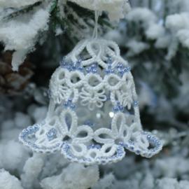 Frivolitépatroon 15: kerstklokje