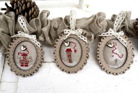 Christmas mini frames 3x - KTC11