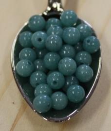 Jade perle - Hell Teal Grün - 4mm