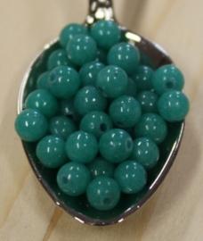 Jade perle - Smaragdgrün - 4mm