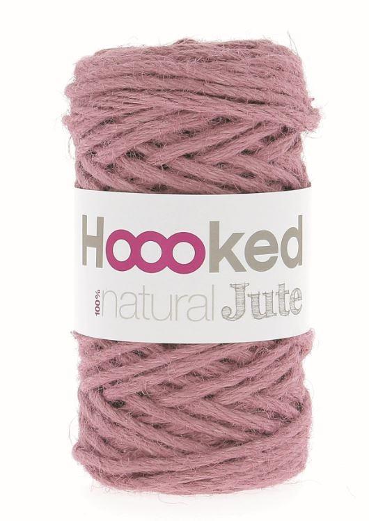 Hoooked Natural Jute - Tea Rose