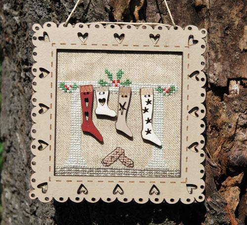 Christmas socks frame - PCN1