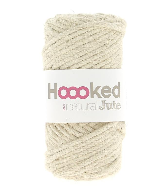Hoooked Natural Jute - Vanilla Cream