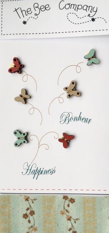 Knopen - butterflies - TB25B