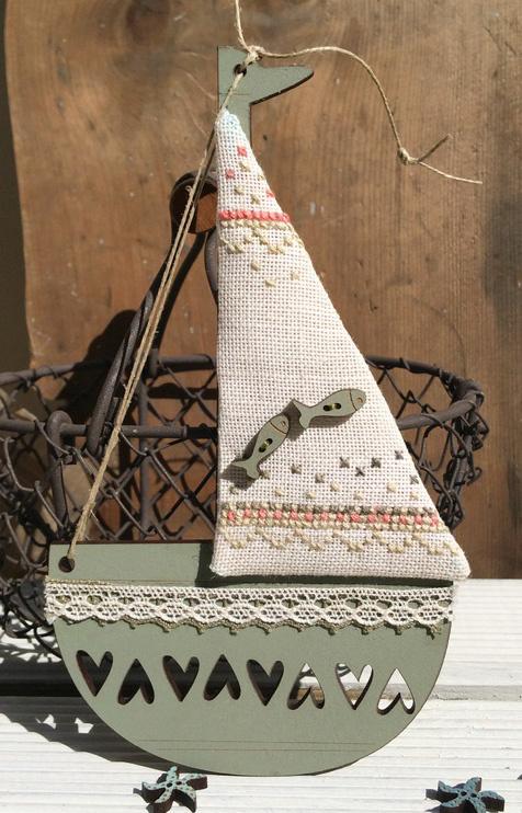 Olive green boat - KBAT3