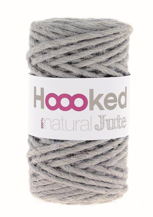 Hoooked Natural Jute - Grey Mist