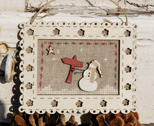 Christmas frame - PCN2