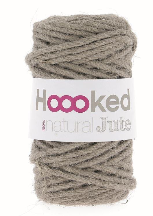 Hoooked Natural Jute - Cinnamon Taupe