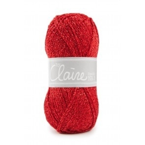 ByClaire nr. 3 Sparkle - Rood - 316