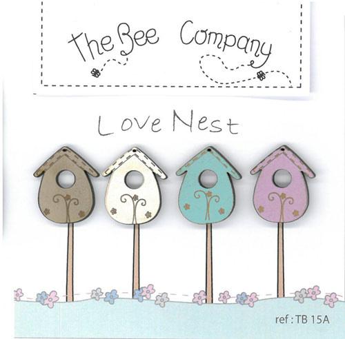 Knopen - love nest birdhouses - TB15A
