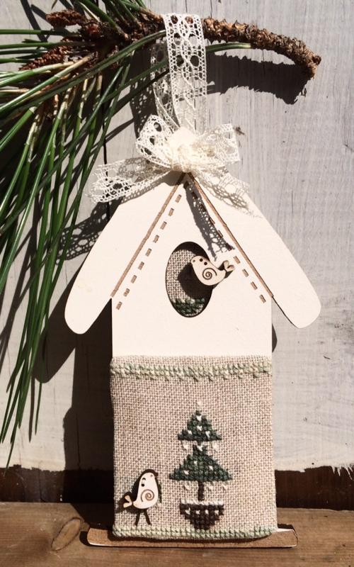 Christmas birdhouse - KPA11
