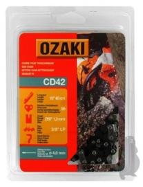 Ozaki zaagketting | 1.3mm | 3/8 | 56 schakels | halfronde beitelvorm Artikelnummer CD42