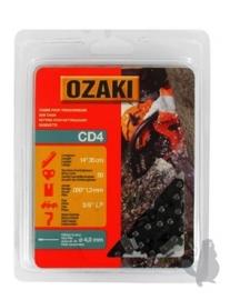 Ozaki zaagketting | 1.3mm | 3/8 | 50 schakels | halfronde beitelvorm Artikelnummer CD4