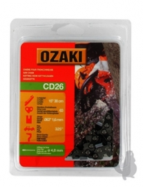 Ozaki zaagketting | 1.6mm | .325 | 63 schakels | Artikelnummer C26