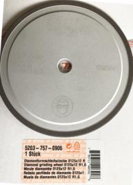 Stihl Diamant Slijpschijf   125mm-1.6mm-12mm  voor het slijpen van  Stihl Duro kettingen artnr 5203 757 0906