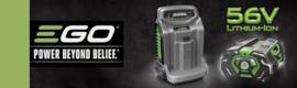 Ego CS1401 kettingzaag + accu 2.5 ah + acculader + 2 extra kettingen en 2 liter olie
