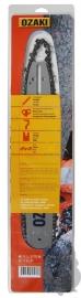 Ozaki combiset: zaagblad + 1 ketting | 1.6mm | 3/8 | 45cm| BLADAANSLUITING D025| 183SLHD025
