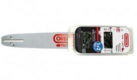 Actie! Combinatieset:  Oregon AdvanceCut zaagblad + 2 Oregon 22BPX067E zaagkettingen | 40cm | passend op Stihl