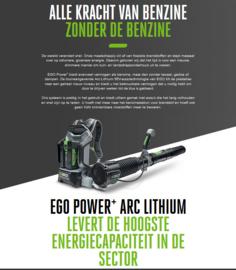 EGO LB6002E ruggedragen bladblazer + Accu 5A + Snellader