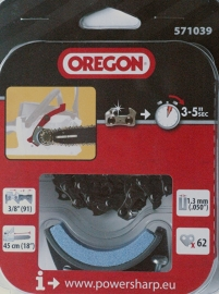 Oregon PowerSharp ketting voor electrische kettingzaag CS1500 | PS62E