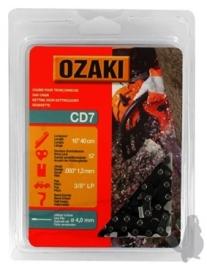 Ozaki zaagketting | 1.3mm | 3/8 | 57 schakels | halfronde beitelvorm Artikelnummer CD7
