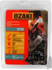 Ozaki zaagketting | 1.3mm | 3/8 | 55 schakels | halfronde beitelvorm Artikelnummer CD6