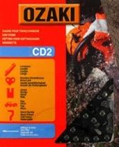 Ozaki zaagketting | 1.3mm | 3/8 | 45 schakels | halfronde beitelvorm Artikelnummer CD2