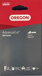 "Oregon zaagketting 1.1mm 3/8"" 44 aandrijfschakels 90PX044E"