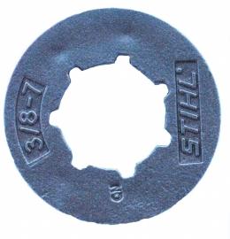 Ring voor ringaandrijftandwiel 7Tands 3/8P art. nr. 0000 642 1240 Stihl 021, 023, 023L, MS210-250