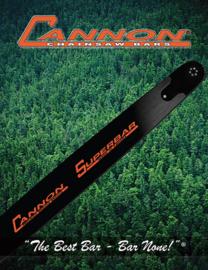 Cannon Carving Zaagblad Bar Dime Tip 30cm multi mount Artnr ccd-c1-12-50