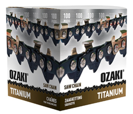Ozaki Titanium ketting 1.6mm 3/8  100ft 1640 schakels