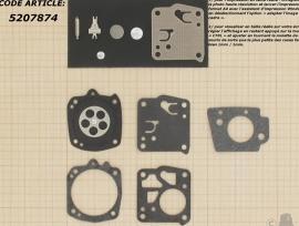 Membraamset passend op TILLOTSON RK-21HS passend op STIHL 041, 045, 051, 056, 076, TS50, TS510, TS760