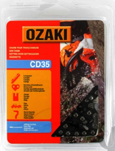 Ozaki zaagketting   1.1mm   3/8   44 aandrijfschakels   CD35